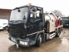 2006 IVECO ML75E17K JetVac Combination Truck
