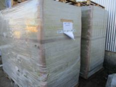 2NO PALLETS OF SOUNDPROOFING/INSULATING PANELS