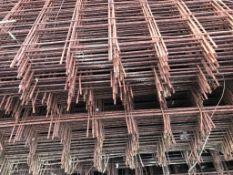 200no. 2.4m x 1.2m Concrete reinforcing mesh panels.