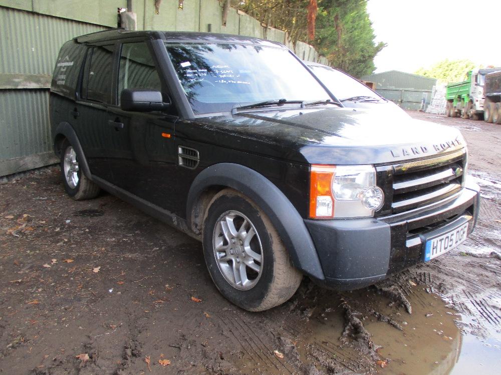 Land Rover Discovery 3 Tdv6 Black Reg Ht05 Dgf Test To