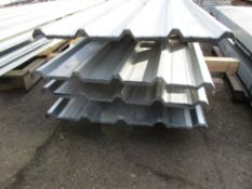 100NO 8FT X 0.87METRE WIDE BOX PROFILED GALVANISED ROOFING SHEETS