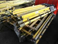 QTY OF ASSORTED GRP SCAFFOLD PARTS