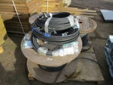 PALLET OF ASSORTED ARMOURED CABLES