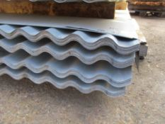 100NO 8FT X 0.83METRE WIDE CORRUGATED GALVANISED ROOFING SHEETS