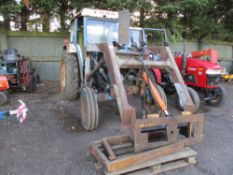 Ford 4000 tractor c/w loader