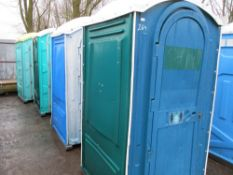 4X PORTABLE TOILETS....NB 4NO TOILETS IN THIS ONE LOT