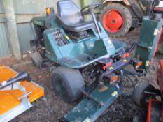 Hayter LT324 triple gang mower