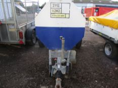MAINWAY 1000 LITRE TOWED BUNDED BOWSER