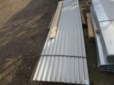50NO CORRUGATED ROOF SHEETS, GALVANISED, 12FT LENGTH
