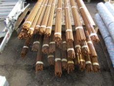 30 X BUNDLES OF REINFORCING BAR CIRCA 1.8 METRE LENGTH
