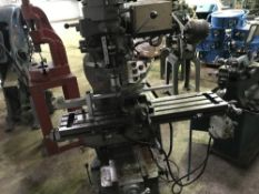 LONG CHANG LC-1.5VS MILLING MACHINE, RECENTLY REMOVED FROM WORKING ENVIRONMENT
