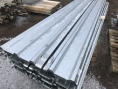 100no sheets of box profile 10ft length galvanised roofing sheets