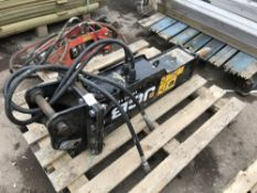 JCB HMO18T BREAKER ON 35MM PINS REGASSED AND TESTED...NO VAT ON HAMMER PRICE
