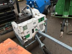 Terex roller breaker, yr2003 SN;SLBP0000E302BR057 FUEL FEED PIPE DAMAGED SO HAS NOT BEEN TESTED