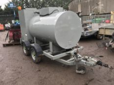Twin axled transformer oil change over tanker