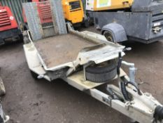 IFOR WILLIAMS GH94 Twin axled mini digger trailer YEAR 2011 SN:SCK600000B0593082