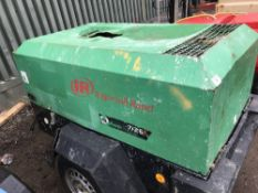 INGERSOLL RAND 726 COMPRESSOR YEAR 2006 PN:2090FC WHEN TESTED WAS SEEN TO RUN AND MAKE AIR