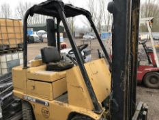 Caterpillar 25 diesel forklift SN;07900941/6 WHEN TESTED, TURNED OVER BUT NOT STARTING