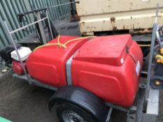 WESTERN PETROL ENGINED WASHER BOWSER, YEAR 2004 SN:SEWH110PY4BG21711 WHEN TESTED WAS SEEN TO RUN AND