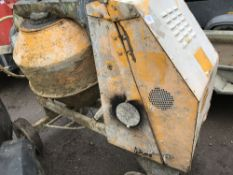site mixer, recent engine replacement, straight from working site