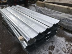 100no sheets of box profile 8ft length galvanised roofing sheets