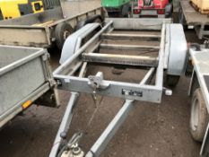 KNOTT TWIN AXLED TRAILER CHASSIS YEAR 2007 SN:64603/5