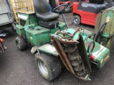RANSOMES 213 FOR SPARES, KUBOTA DIESEL ENGINE, SOME PARTS MISSING