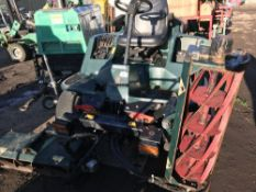 HAYTER LT324 4WD TRIPLE MOWER. WHEN TESTED WAS TURNING OVER BUT NOT STARTING