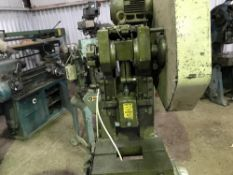 JONES AND ATTWOOD WORCESTER 10 PUNCH UNIT, RECENTLY REMOVED FROM WORKING ENVIRONMENT
