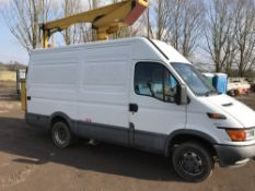 IVECO POWERED ACCESS VEHICLE REG:FY52 HLN. LEZ COMPLIANT, WITH V5, INSTRUCTIONS ETC. LOCAL