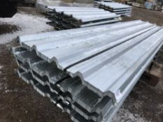 100no sheets of box profile 12ft length galvanised roofing sheets,
