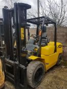 Samuk r50d 5 ton diesel forklift fitted with side shift 1400 rec hours