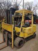 Hyster s4.50xm forklift year 2004 4500kgs container spec