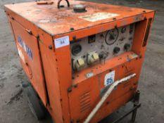 Arcgen Weldmaker barrow welder, yr1997 SN;1004045