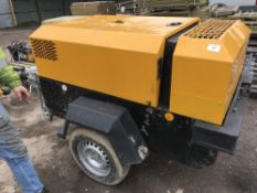 INGERSOLL RAND 741 COMPRESSOR YEAR 2003 SN:SCZ741XX3Y419004 WHEN TESTED WAS SEEN TO RUN AND MAKE AIR