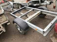 SINGLE AXLED TRAILER CHASSIS