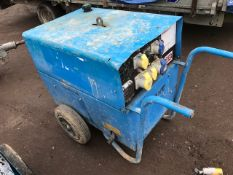 stephill 6kva barrow generator. when tested was seen to run. pn:5544FC
