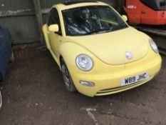 Volkswagen Beetle W89 JHC 128,477 rec miles.