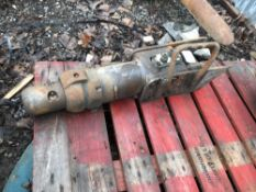 Indeco HP150 breaker previously used on skid steer loader