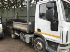 IVECO 75E16 EURO CARGO TIPPER YEAR 2008, REG:LK08 LDX 182,101 REC MILES. SOURCED FROM MAJOR UK