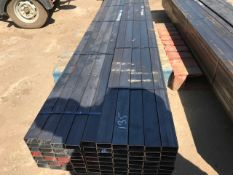75PIECES 60X30X2MM BOX STEEL TUBES