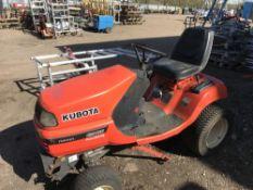 KUBOTA G2160 2WD DIESEL MOWER PARTS MISSING YEAR 2007 BUILD, 2008 REGISTERED. REG:EU08 ORV 1394
