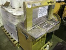 Strapack banding unit plus pallet of banding material...NO VAT ON HAMMER PRICE
