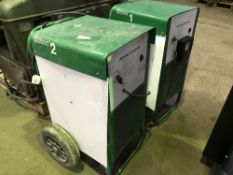 2NO EBAC BUILDING DRIERS...NO VAT ON HAMMER PRICE