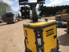 ATLAS COPCO QLD60 STATIC TOWER LIGHT UNIT WITH LED HEADS