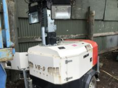 VB9 TOWED TOWER LIGHT SET SN:1001723