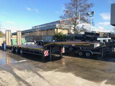 2017 MAC-S3-44 McCauley Tri-Axle Stepframe Trailer