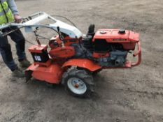 KUBOTA AD70 DIESEL ROTORVATOR...SEE VIDEO when tested was seen to drive and blades turned
