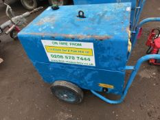 stephill 6kva barrow generator. when tested was seen to run. pn:5514FC