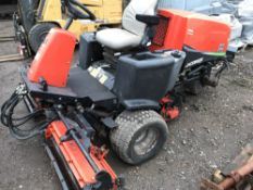 JACOBSEN TR3 TRIPLE MOWER SN:FG00398 YEAR 2006 APPROX when tested was seen to run, drive and